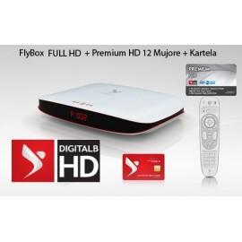 Premium 12 Mujore + Kartela + FlyBox Falas