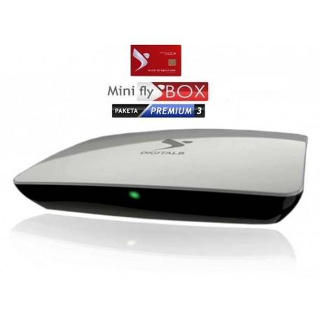 Abonim Premium 3 Mujore + miniFlyBox FULL HD + SC