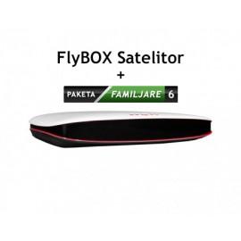 Familjare 6 Mujore me FlyBox
