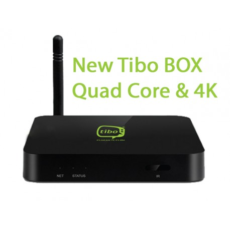 Tibo Quad Core Box & 4K
