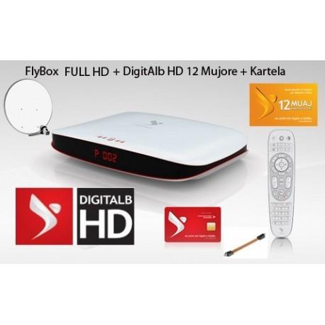 Familjare 12 Mujore + FlyBox FULL HD + Antena