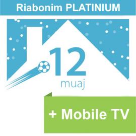 Riabonim Tibo Platinium 12 Mujore + Mobile