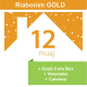 Riabonim Tibo Gold 12 Mujore