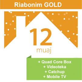 Riabonim Tibo Gold 12 Mujore + Mobile TV