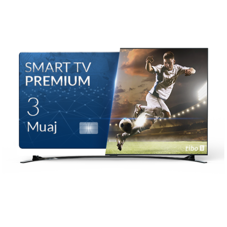 Tibo Smart TV - Abonim Premium 3 Mujore