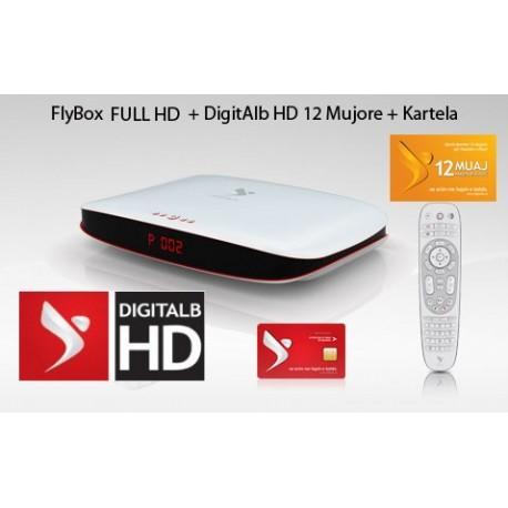 Familjare 12 Mujore + FlyBox FULL HD/3D