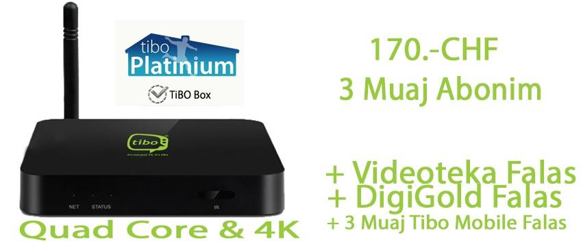 Tibo Premium 3 Mujore + Tibo BOX
