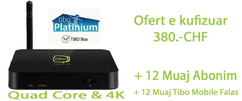 PLATINIUM 12 MUJORE + Quad Core Box